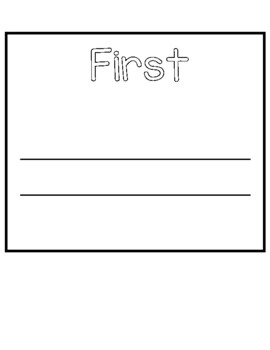 Story Sequencing Flip Book Freebie