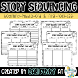 Story Sequencing Flow Map