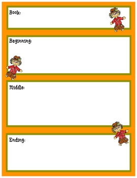 Story Sequence Maps (Holidays)