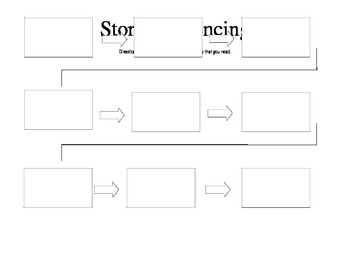 Story Sequencing Organizer