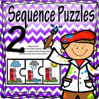 Story Sequencing Puzzles 2 - first, next,end