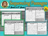 Reading Comprehension Passages Sequence RL1.2 (21) | First Grade | Sequencing