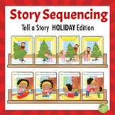 Picture Sequencing - Tell a A Story Holiday Edition
