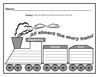 Story Sequencing Train
