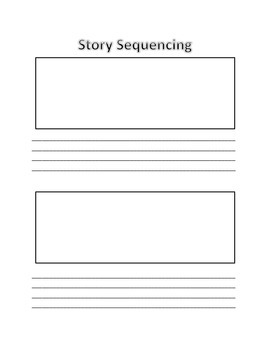 Story Sequencing Worksheet