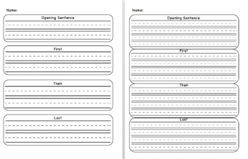 Story Sequencing Worksheets