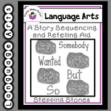 Get Up and Move Sequencing and Retelling Somebody Wanted But So Stepping Stones