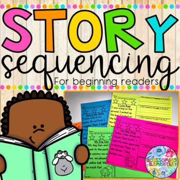 Story Sequencing {for beginning readers}