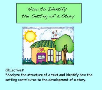 Story Setting Elements