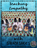 Story Shoes Photo Prompts and Writing Response Sheets {FREEBIE}