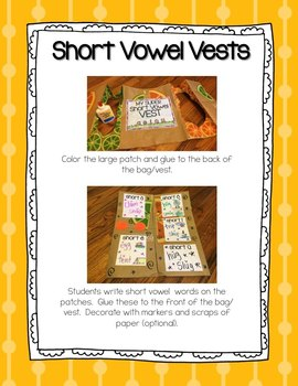Short Vowels - Story Songs