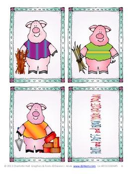 Story Sorter: The Three Bears, The Three Little Pigs