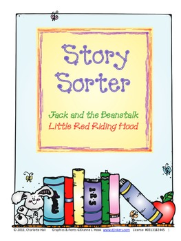 Story Sorting: Jack and the Beanstalk, Little Red Riding Hood