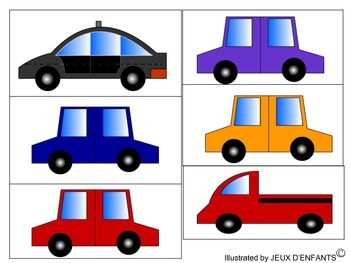 On sale: Story &  Sorting and Categorizing Activity (Cars - more illustrations!)
