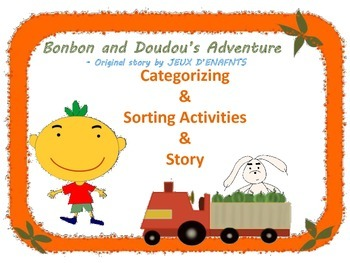 On sale: Story &  Sorting and Categorizing Activity (Cars