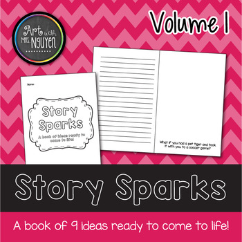 Story Sparks Creative Writing and Illustrating Mini-book