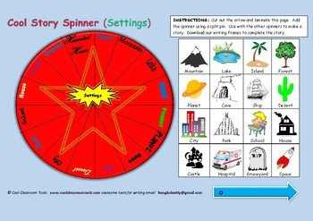 Story Spinner (Story Settings)