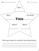Story Star (Common Core RI 2.1, RL 2.1, RI 3.7)
