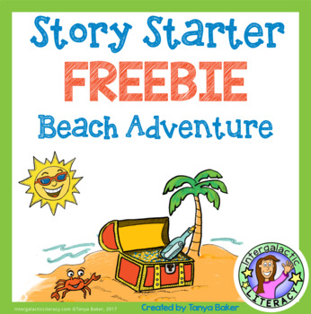 Story Starter {Beach Adventure} FREEBIE