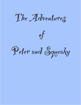 Story Starter/ Creative Writing The Adventures of Peter an
