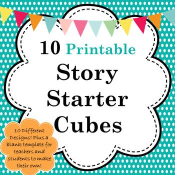 Story Starter Cubes