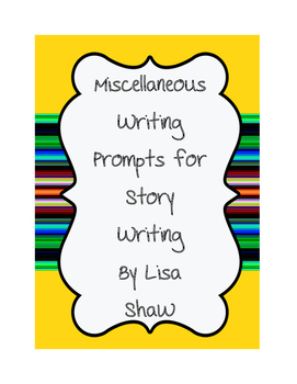 Story Starter Ideas for Writing