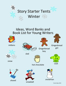 Story Starter Tents - Winter Writing