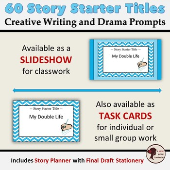 Story Starter Titles: Creative Writing and Drama Prompts