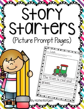 Narrative Writing {Story Starters with Picture Prompts}