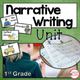 Narrative Writing Unit for 1st and 2nd Grade