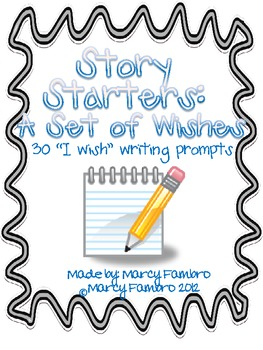 Story Starters: A Set of Wishes (30 Writing Journal Prompts)