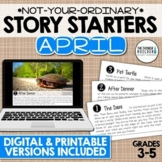 Story Starters: APRIL {Not Your Ordinary Writing Prompts!}