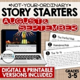 Story Starters: AUGUST/SEPTEMBER {Not Your Ordinary Writin