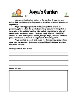 Story Starters: Anya's Garden