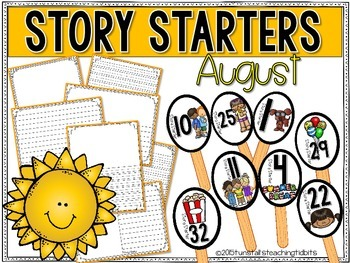 Story Starters August