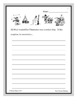 Creative Writing Christmas Story Starters: Fun writing prompts to get started!