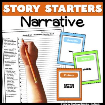 Story Starters Creative Writing Activity