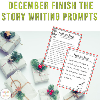Creative Writing Story Starters: December Edition