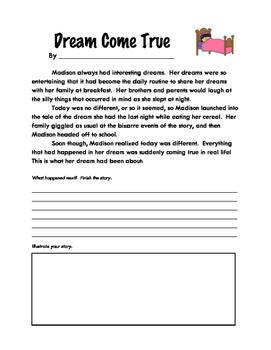 Story Starters: Dream Come True