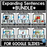 Google Classroom Distance Learning Expanding Sentences | W