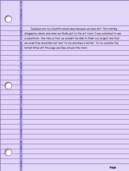 Writing Prompts for use with Google Classroom