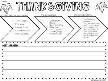 Story Starters: Halloween, Thanksgiving, Christmas