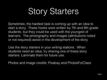 Story Starters / Hooks