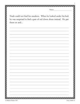 Creative Writing Story Starters I: Fun writing prompts to get started!