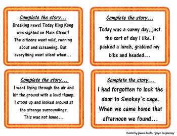 creative writing story starters grade 3 All that is needed for some really inspiring creative writing is a little prompt -  and that's the idea of our story starters  enid blyton story starter - famous five  3.