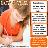 Story Starters Creative Writing Prompts