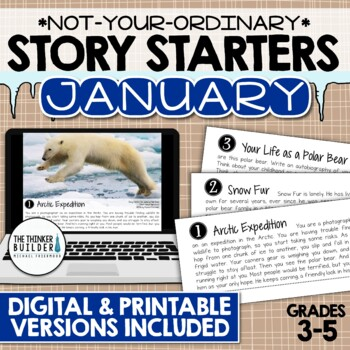 Story Starters: JANUARY {Not Your Ordinary Writing Prompts!}