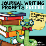 Story Starters Journal Topics and Ideas Writing Center - Checklist