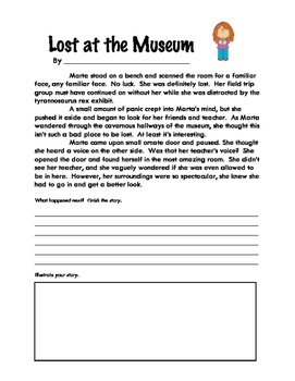 Story Starters: Lost at the Museum