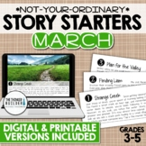 Story Starters: MARCH {Not Your Ordinary Writing Prompts!}
